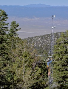 Access to this montane station is limited for 6-9 months out of the year, so real-time communications allow us to watch its system health and get data every few minutes.