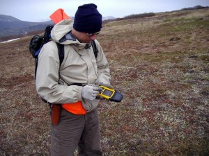Traditional geospatial field data tools include the iconic Trimble ruggedized field computers.