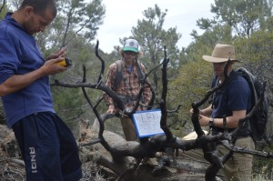 By using a rugged field computer to take standardized notes, our field sampling crew can make uniform, rapid progress regardless of which person is taking the notes at the time.