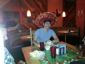 It's somebody's birthday at Margarita's! Cue the fried ice-cream!
