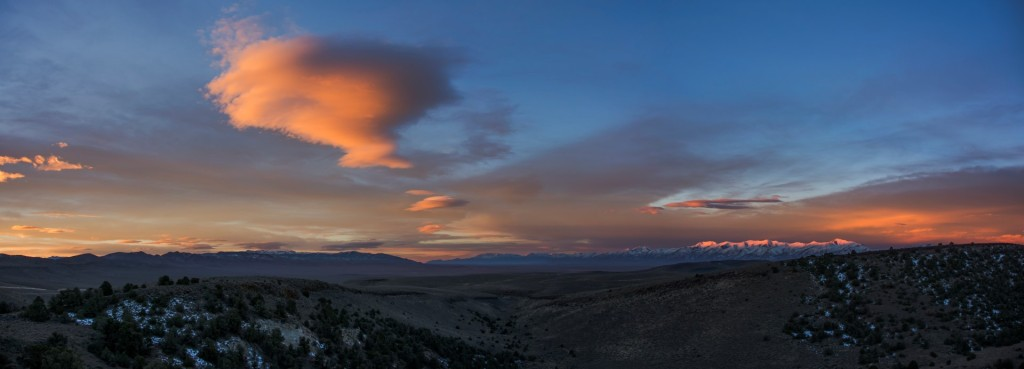 This 4-frame panorama came out fantastic, even with challenging light levels.