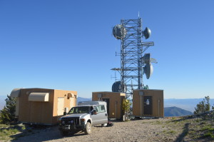 This mountaintop communications site sees very hard conditions in the winter. Being able to take photos of icing conditions on the tower and antennas would help troubleshoot reoccurring problems with signal strength.